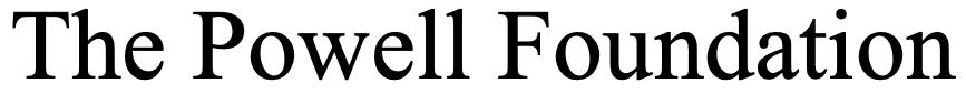 The Powell Foundation Logo